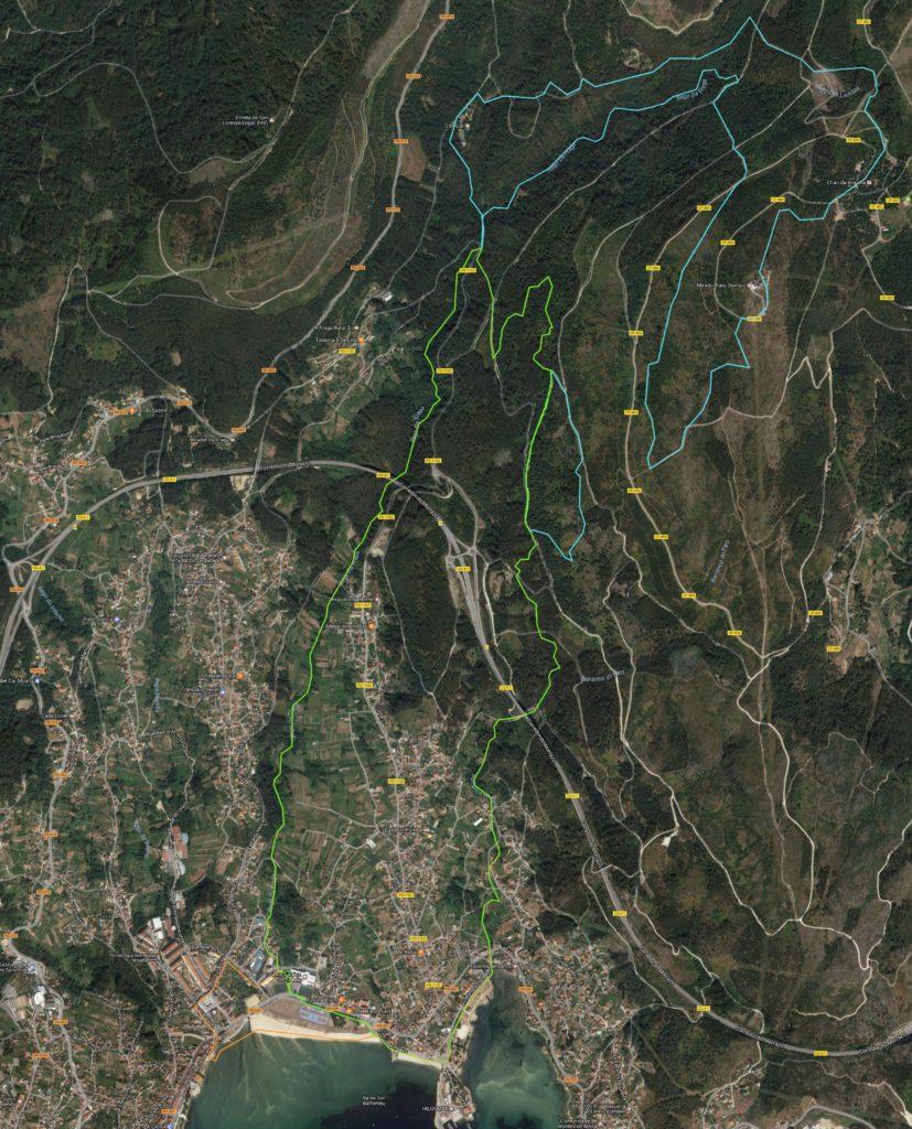 Recorrido Trail y Andana